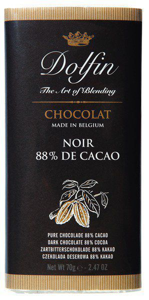 Bittersweet chocolate 88%